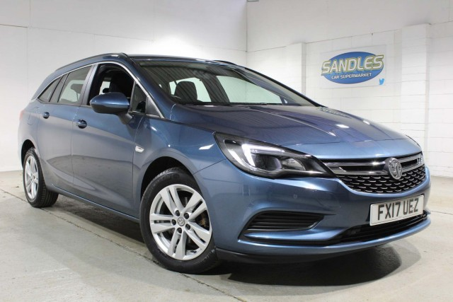 Vauxhall Astra 1.4 Tech Line 5dr Estate 2017