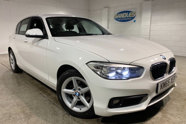 BMW 1 Series 2.0 118d Se 5dr Hatchback 2015