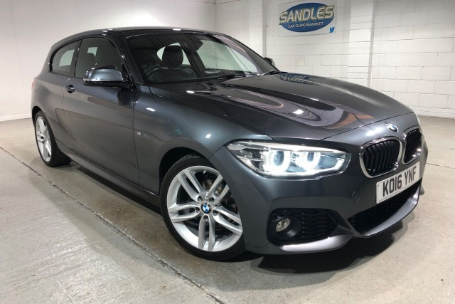 BMW 1 Series 1.5 116d M Sport 3dr Hatchback 2016