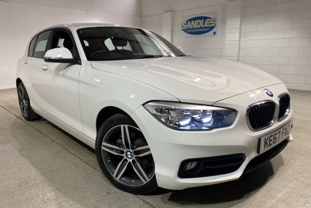 BMW 1 Series 2.0 118d Sport 5dr Hatchback 2017