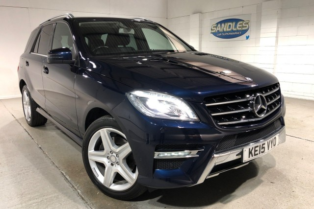 Mercedes Benz M-class 2.1 Ml250 Bluetec Amg Line 5dr Estate 2015