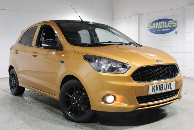 Ford Ka Plus 1.2 Zetec Colour Edition 5dr Hatchback 2018