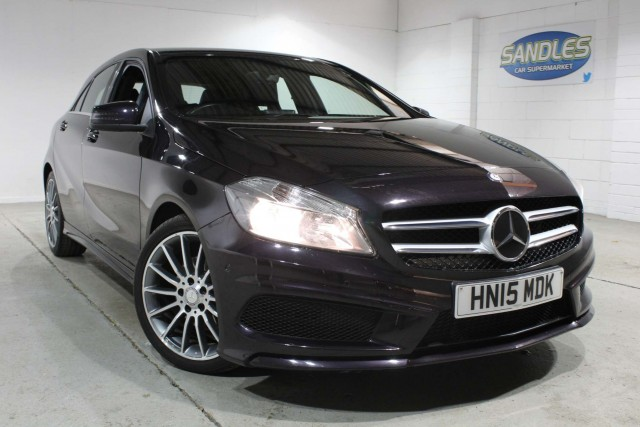Mercedes Benz A-class 1.5 A180 CDi Blueefficiency Amg Sport 5dr Hatchback 2015