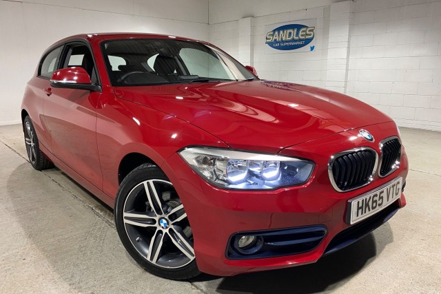 BMW 1 Series 1.5 116d Sport 3dr Hatchback 2016