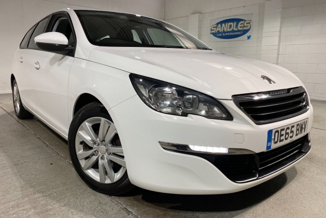 Peugeot 308 1.6 Blue HDi S/S SW Active 5dr Estate 2015