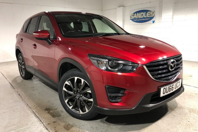 Mazda CX-5 2.2 D Sport Nav 5dr Estate 2016