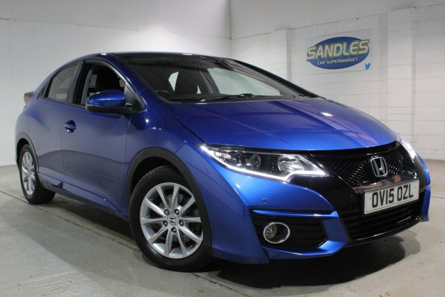 Honda Civic 1.6 I-Dtec SE Plus 5dr Hatchback 2015