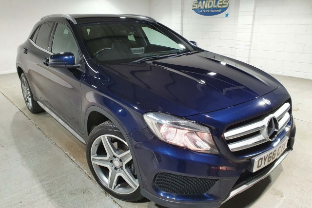 Mercedes Benz Gla-class 2.1 Gla 220 D 4matic Amg Line 5dr Estate 2016