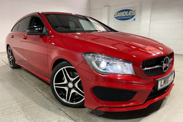 Mercedes Benz Cla 2.1 Cla 220 D Amg Line 5dr Estate 2016
