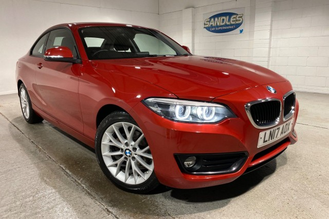 BMW 2 Series 1.5 218i Se 2dr Coupe 2017