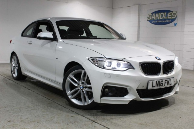 BMW 2 Series 1.5 218i M Sport 2dr Coupe 2016