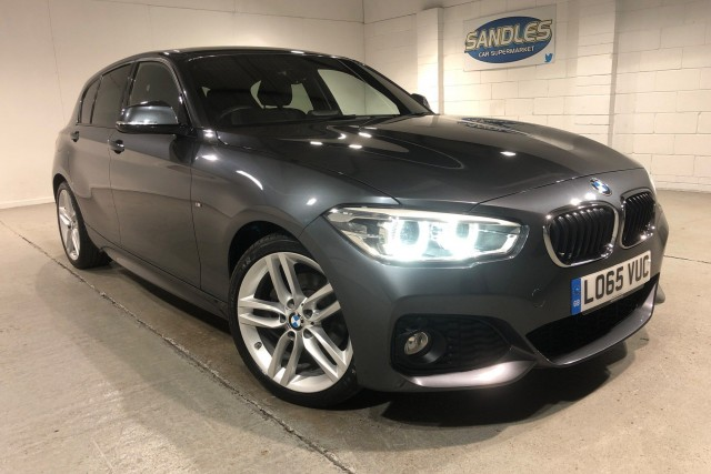 BMW 1 Series 2.0 120d M Sport 5dr Hatchback 2016