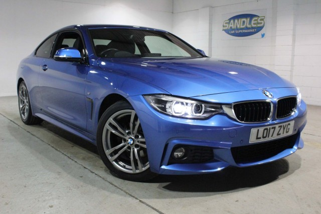 BMW 4 Series 2.0 420i M Sport 2dr Coupe 2017