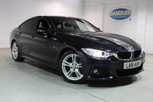 BMW 4 Series 2.0 420d M Sport Gran Coupe 4dr Coupe 2016