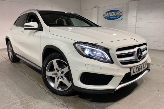 Mercedes Benz Gla-class 2.1 Gla220 CDi 4matic Amg Line Premium Plus 5dr Estate 2015