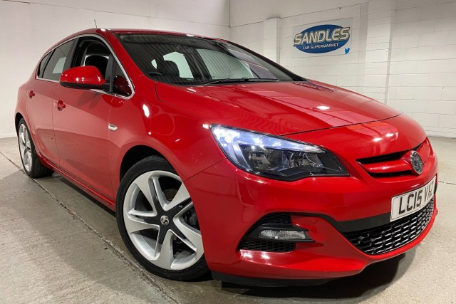 Vauxhall Astra 1.6 Limited Edition 5dr Hatchback 2015