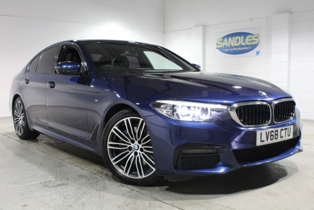 BMW 5 Series 3.0 530d Xdrive M Sport 4dr Saloon 2018