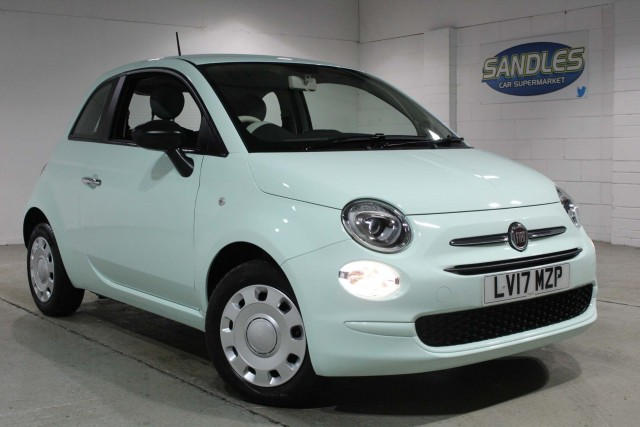 Fiat 500 1.2 Pop 3dr Hatchback 2017