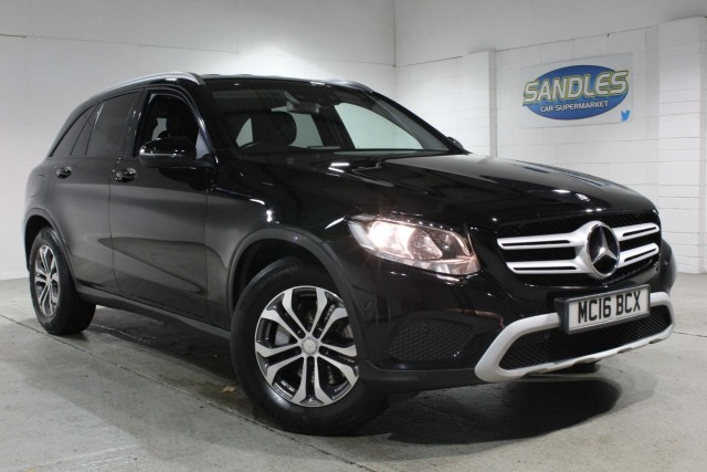 Mercedes Benz Glc-class 2.1 Glc 220 D 4matic SE Executive 5dr Estate 2016