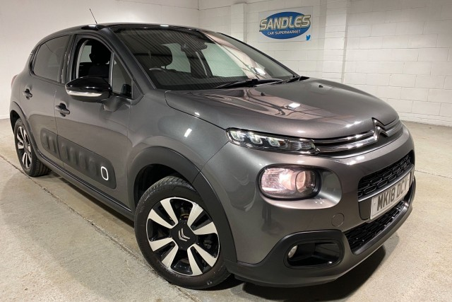 Citroen C3 1.2 Puretech Flair 5dr Hatchback 2018
