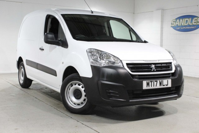 Peugeot Partner 1.6 Blue HDi SE L1 Panel Van 2017