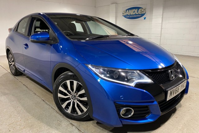 Honda Civic 1.6 I-Dtec SE Plus Navi 5dr Hatchback 2016