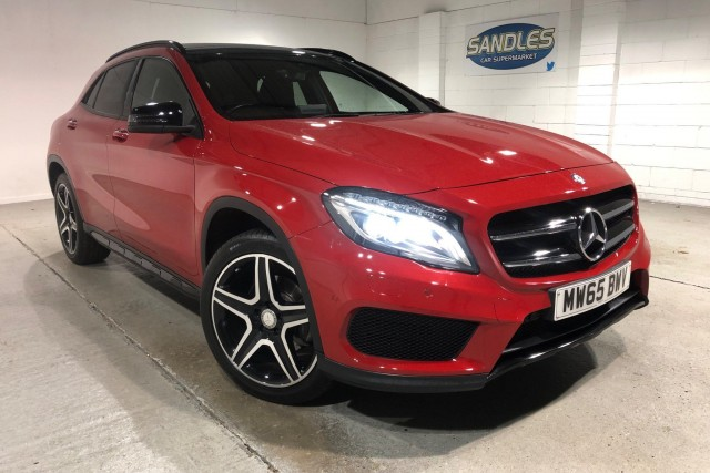 Mercedes Benz Gla-class 2.1 Gla 220 D 4matic Amg Line Premium Plus 5dr Estate 2015