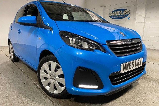 Peugeot 108 1.0 Active Top 5dr Hatchback 2015
