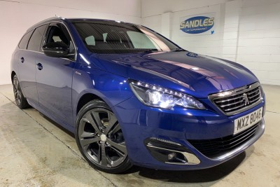 Peugeot 308 Blue Hdi S/s Sw Gt Line