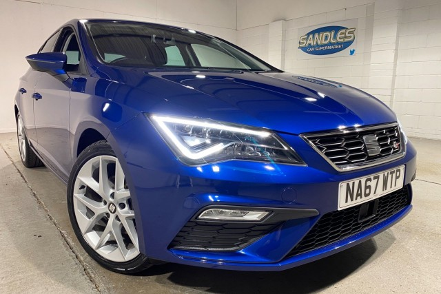 Seat Leon 1.4 Tsi Fr Technology 5dr Hatchback 2018