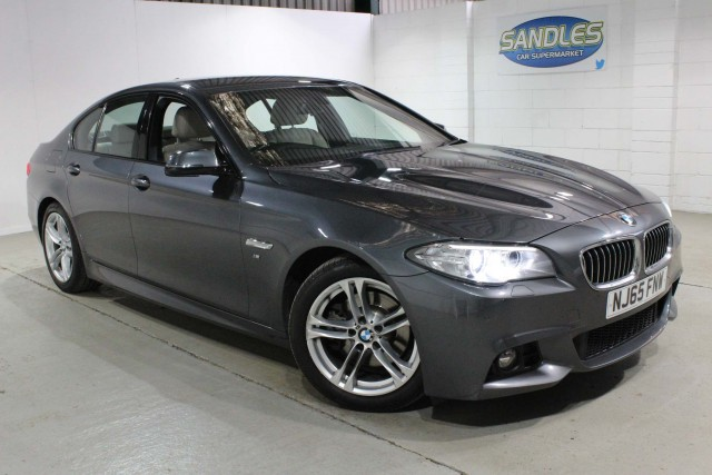 BMW 5 Series 2.0 520d M Sport 4dr Saloon 2015