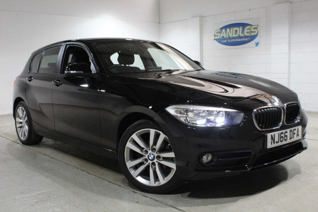 BMW 1 Series 1.5 118i Sport 5dr Hatchback 2016
