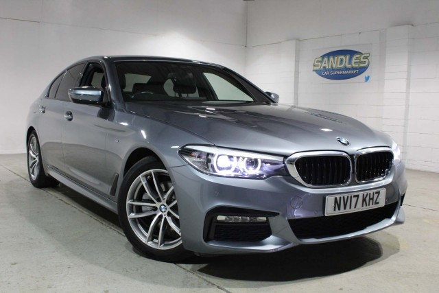 BMW 5 Series 2.0 520d M Sport 4dr Saloon 2017