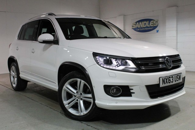 Volkswagen Tiguan 2.0 R Line TDi Bluemotion Technology 4motion 5dr Suv 2013