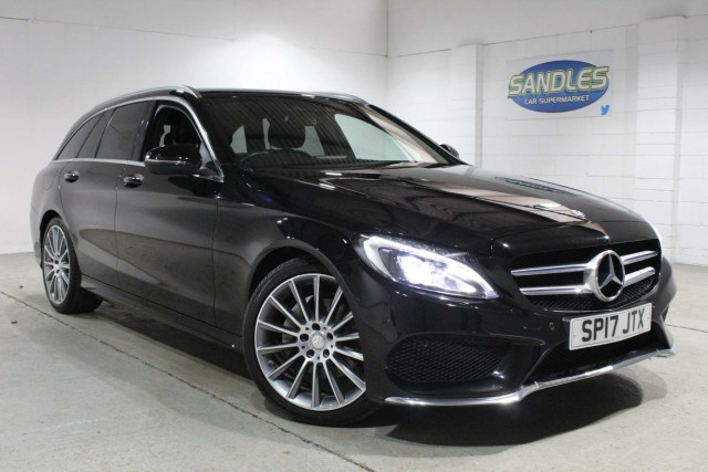 Mercedes Benz C-class 2.1 C220 D Amg Line Premium 5dr Estate 2017