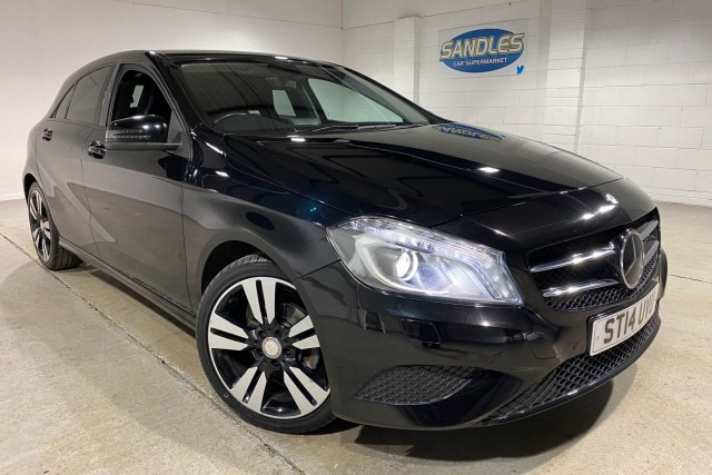 Mercedes Benz A-class 1.5 A180 CDi Blueefficiency Sport 5dr Hatchback 2014