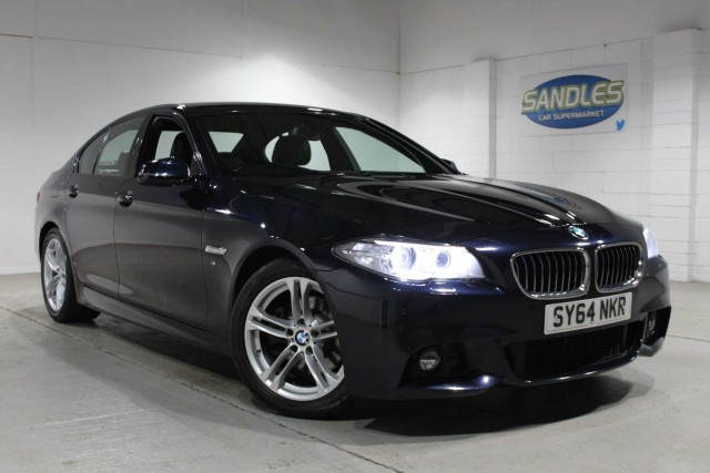 BMW 5 Series 2.0 520d M Sport 4dr Saloon 2014