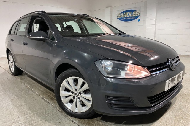 Volkswagen Golf 1.6 SE TDi Bluemotion Technology 5dr Estate 2015
