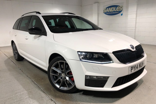 Skoda Octavia 2.0 Vrs TDi Cr 5dr Estate 2014