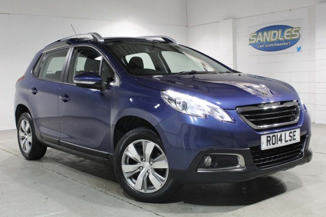 Peugeot 2008 1.2 Active 5dr Suv 2014