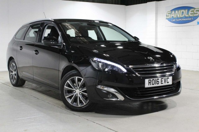 Peugeot 308 1.6 Blue HDi S/S SW Allure 5dr Estate 2016