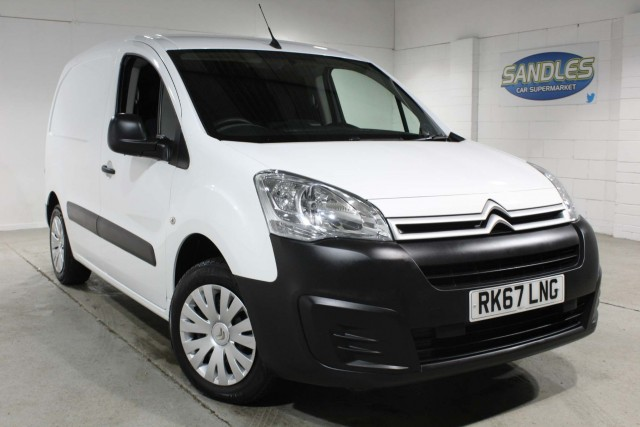 Citroen Berlingo 1.6 625 Enterprise L1 Bluehdi Panel Van 2017