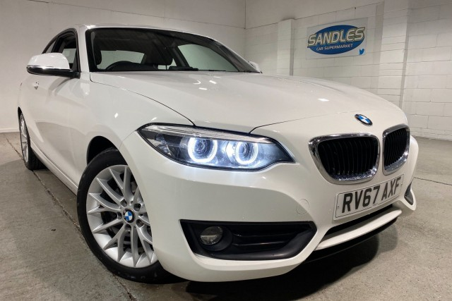 BMW 2 Series 2.0 218d Se 2dr Coupe 2017