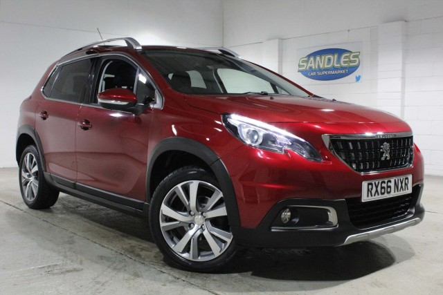 Peugeot 2008 1.6 Blue HDi Allure 5dr Suv 2016