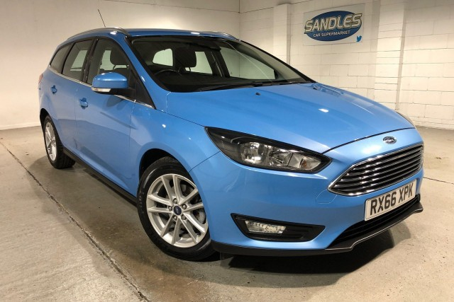 Ford Focus 1.0 Zetec 5dr Estate 2016