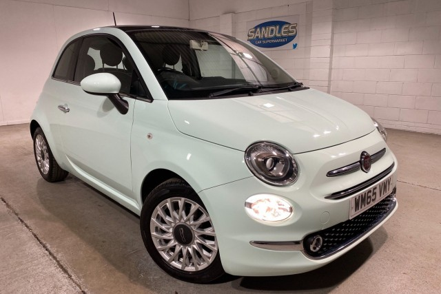 Fiat 500 1.2 Lounge 3dr Hatchback 2015
