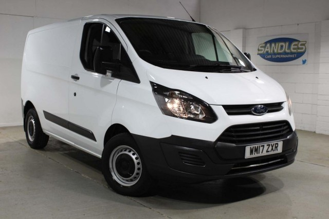 Ford Transit Custom 2.0 290 Lr P/v Panel Van 2017