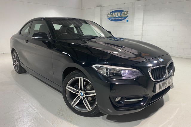 BMW 2 Series 2.0 218d Sport 2dr Coupe 2015