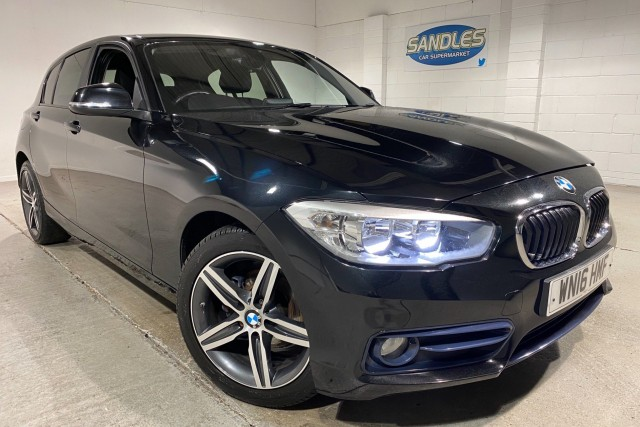 BMW 1 Series 1.5 116d Sport 5dr Hatchback 2016