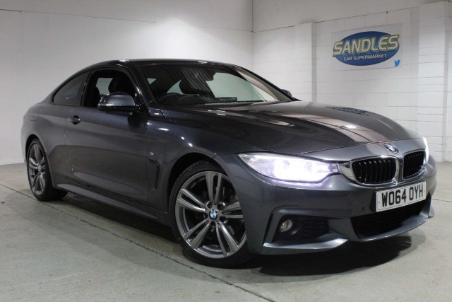 BMW 4 Series 2.0 420d M Sport 2dr Coupe 2015